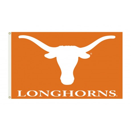 Texas Longhorns University 3'x 5' College Flag