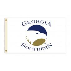 Georgia Southern Eagles White 3'x 5' College Flag