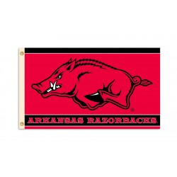 Arkansas Razorbacks 3'x 5' College Flag