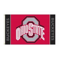 Ohio State Buckeyes 3'x 5' Premium Flag
