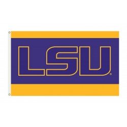 LSU Tigers 3'x 5' College Flag
