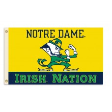 Notre Dame Irish Nation 3'x 5' College Flag