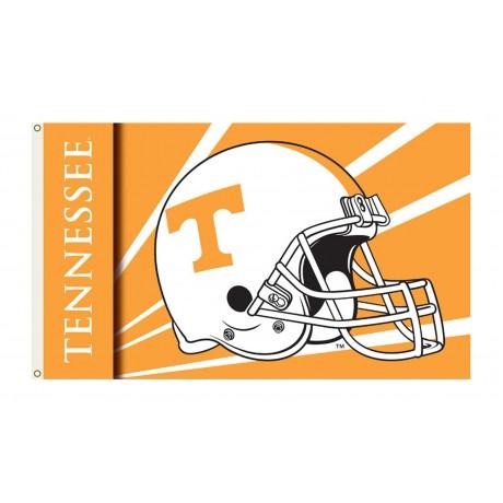 Tennessee Volunteers Helmet 3'x 5' Flag