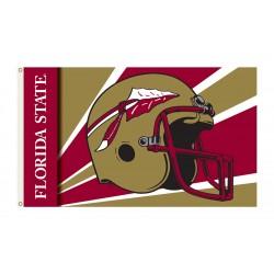 Florida State Seminoles Helmet 3'x 5' Flag