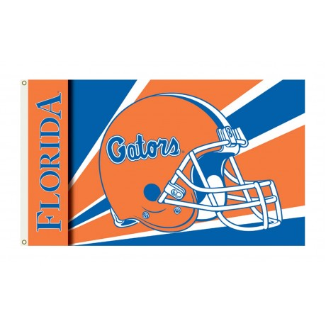 Florida Gators Helmet 3'x 5' Flag