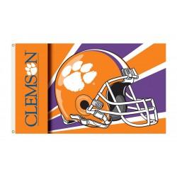 Clemson Tigers Helmet 3'x 5' Flag