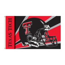 Texas Tech Red Raiders Helmet 3'x 5' Flag