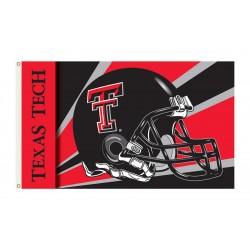 Texas Tech Red Raiders Helmet 3'x 5' Flag