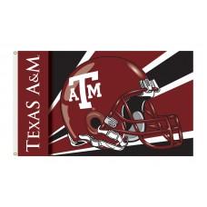 Texas A&M Aggies Helmet 3'x 5' Flag