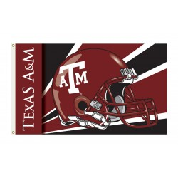 Texas A&M Aggies Helmet 3'x 5' Flag