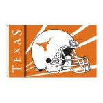 Texas Longhorns Helmet 3'x 5' Flag