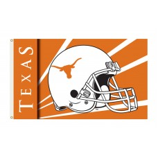 Texas Longhorns Helmet 3'x 5' Flag