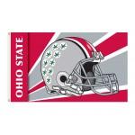Ohio State Buckeyes Helmet 3'x 5' Flag
