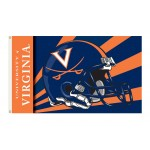 Virginia Cavaliers Helmet 3'x 5' Flag