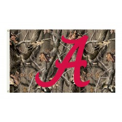 Alabama Crimson Tide Realtree Camo 3'x 5' Flag