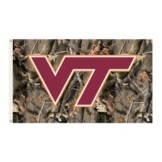 Virginia Tech Hokies Realtree Camo 3'x 5' Flag