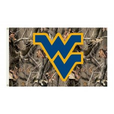 West Virginia Mountaineers Realtree Camo 3'x 5' Flag