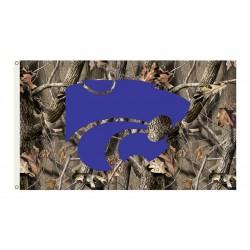 Kansas State Wildcats Realtree Camo 3'x 5' Flag