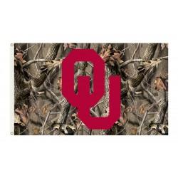 Oklahoma Sooners Realtree Camo 3'x 5' Flag