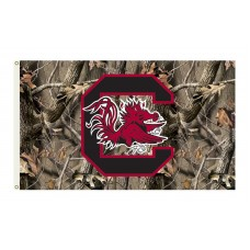 South Carolina Gamecocks Realtree Camo 3'x 5' Flag