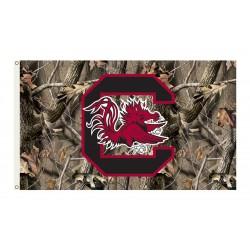 South Carolina Gamecocks Realtree Camo 3'x 5' Flag