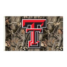 Texas Tech Red Raiders Realtree Camo 3'x 5' Flag