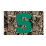 Michigan State Spartans Realtree Camo 3'x 5' Flag