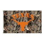 Texas Longhorns Realtree Camo 3'x 5' Flag