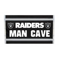 Oakland Raiders MAN CAVE 3'x 5' NFL Flag