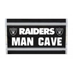 Oakland Raiders MAN CAVE 3'x 5' NFL Flag
