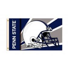 Penn State Nittany Lions Helmet 3'x 5' Flag