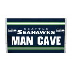 Seattle Seahawks MAN CAVE 3'x 5' NFL Flag