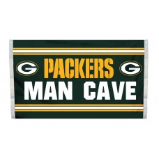 Green Bay Packers MAN CAVE 3'x 5' NFL Flag