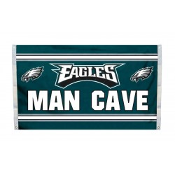 Philadelphia Eagles MAN CAVE 3'x 5' NFL Flag