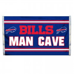 Buffalo Bills MAN CAVE 3'x 5' NFL Flag