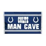 Indianapolis Colts MAN CAVE 3'x 5' NFL Flag