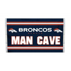 Denver Broncos MAN CAVE 3'x 5' NFL Flag