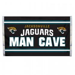 Jacksonville Jaguars MAN CAVE 3'x 5' NFL Flag