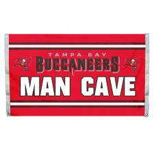Tampa Bay Buccaneers MAN CAVE 3'x 5' NFL Flag