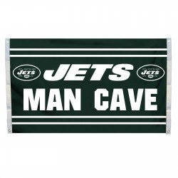 New York Jets MAN CAVE 3'x 5' NFL Flag