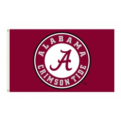 Alabama Crimson Tide Circle A 3'x 5' Flag