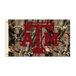 Texas A&M Aggies Realtree Camo 3'x 5' Flag