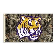 Louisiana State Tigers Realtree Camo 3'x 5' Flag