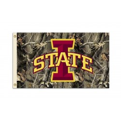 Iowa State Cyclones Realtree Camo 3'x 5' Flag
