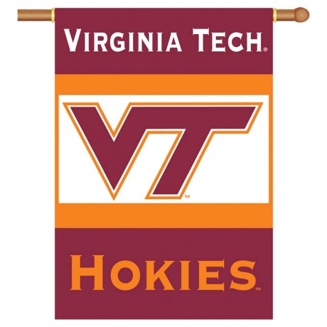 Virginia Tech NCAA Double Sided Banner