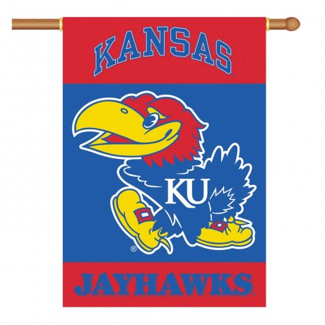 Kansas Jayhawks NCAA Double Sided Banner