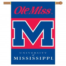 Mississippi Rebels NCAA Double Sided Banner