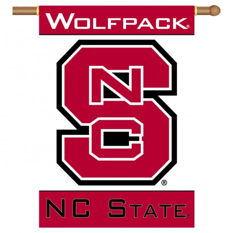North Carolina State Wolfpack Double Sided Banner