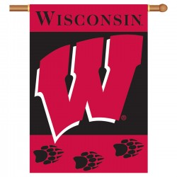 Wisconsin Badgers Double Sided Banner