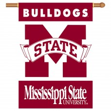 Mississippi State Bulldogs NCAA Double Sided Banner